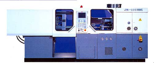 High-Speed / Multi-Sequence / Close Loop Injection Molding Machine : JW-100HMC
